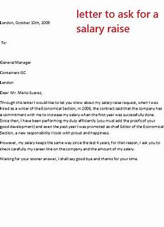 Letter Requesting Raise In Salary 8 Salary Increase Templates Excel Pdf Formats