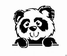 Ausmalbilder Tiere Panda Panda Schaut Ausmalbild Malvorlage Tiere