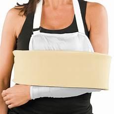 cradle arm sling shoulder immobilizer with foam swathe