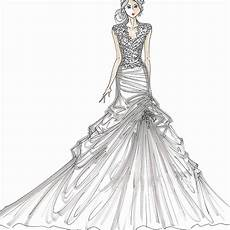 Dress Designing Sketches Dress Sketches For Fashion Designing At Paintingvalley Com