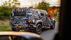 Jaguar Land Rover Defender 2020 by The New 2020 Land Rover Defender Spied Testing