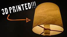 3d Light Shade 3d Printed Lithophane Lamp Shade Custom Diy Design Youtube