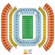 Titans Interactive Seating Chart Tennessee Titans Ticket And Seating Information