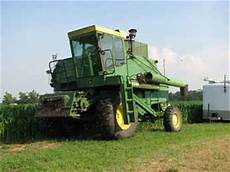 Used Farm Tractors For Sale 6600 John Deere Combine 2009
