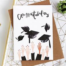 Graduation Card Design Graduation Congratulations Card Gifts Katy Pillinger