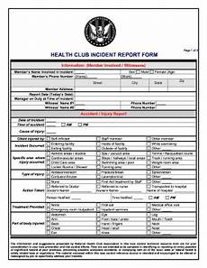 High Point Incident Report Club Incident Report Form Fill Out And Sign Printable