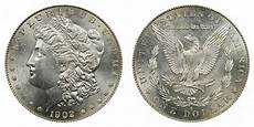 1902 Silver Dollar Value Chart 1902 S Morgan Silver Dollar Coin Value Prices Photos Amp Info