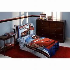 Disney Cars Bedroom Set Disney Fastest Team 4 Cars Toddler Bedding Set