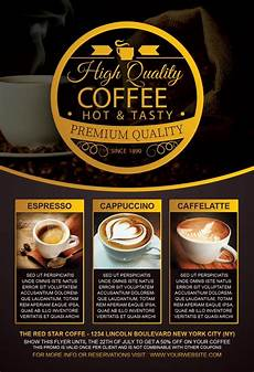Cafe Flyer Template Coffee Special Promotion Free Psd Flyer Template Free