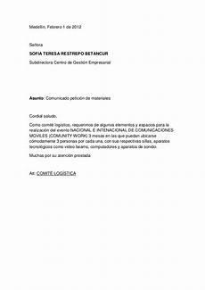 Ejemplos De Cartas De Peticion Carta De Pedido