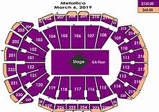 Metallica Philadelphia Seating Chart Seating Charts Sprint Center
