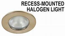 Halogen Light Fixture Not Working Recessed Halogen Lamp Fixture Link Multiple Lights Youtube