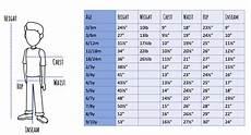 Boys Age Size Chart Sizing Me Amp Henry