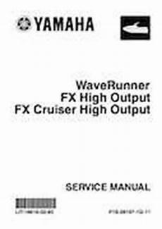 2004 2007 Waverunner Fx Cruiser High Output Service Repair