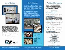 Art Gallery Brochure Design Brochures Kristin Fundalinski Designs