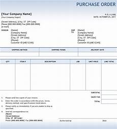 Purchase Order Invoices So What Are Purchase Orders