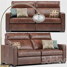 Leather Recliner Sofa 3d Image by 3d Models Sofa Henry Leather Recliner Sofa Overarching