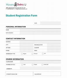 Registration Form Template In Html How To Customize A Registration Form Template Using