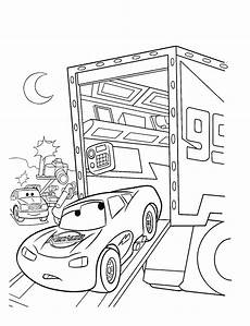 free printable lightning mcqueen coloring pages for