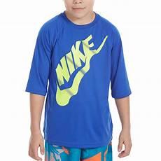 sleeve rash guard toddler boy oversized nike big boys solid half sleeve hydroguard rash guard top