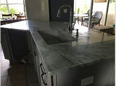 Lumen Quartzite Countertops Installation