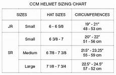Youth Hockey Helmet Size Chart Ccm Youth Hockey Helmet Size Chart Helmet