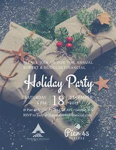 Work Christmas Party Flyer Christmas Holiday Party Flyer Template Mycreativeshop