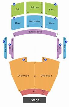 Highland Arts Theatre Seating Chart Fred Kavli Theatre Seating Chart Amp Maps Thousand Oaks