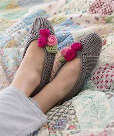 knitted slipper patterns a knitting