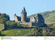Historical Castles Historical Castle Stahleck Germany Stock Photo Image Of