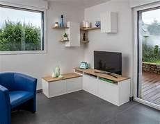 meuble tv et rangement pour un meuble d angle pour tv et rangement compagnie des ateliers