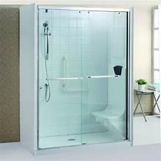 cristalli doccia cabina doccia cristallo 8 mm per anziani trasparente