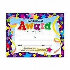 Child Award Certificate Certificate For Kids Amazon Com