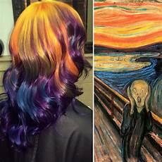 hair art hairstylist turns hair into classic bored panda