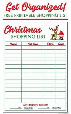 Christmas List Maker Printable Free Christmas Shopping List Template Viva Veltoro