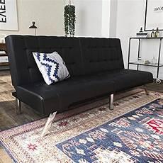 dhp emily futon sofa bed modern convertible