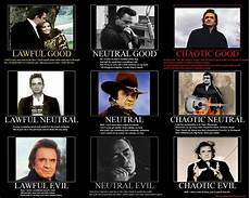 Research Alignment Chart The Many Faces Of Johnny Cash Alignment Charts Know