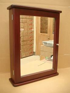 cherry medicine cabinet mirror handcrafted with solid wood