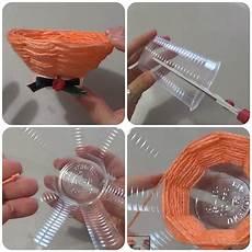 bicchieri plastica come fare una ciotolina riciclando i bicchieri di carta