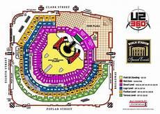 Arbor Stadium Seating Chart Here S The U2 Busch Stadium Seating Chart With Price