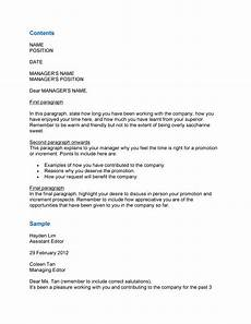 Pay Rise Letter Template 50 Best Salary Increase Letters How To Ask For A Raise