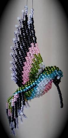 joanne raymond hummingbird beaded crafts seed bead