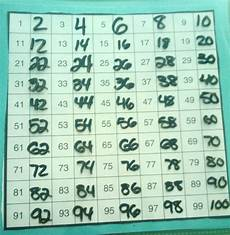 Counting By 2 S Chart 25 Things To Do With The Hundreds Grid In A Guided Math