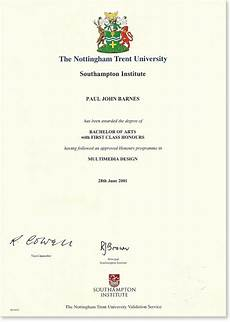 First Class Honors Bachelor Of Arts With First Class Honours Paul Barnes