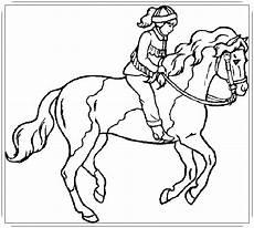 Pferde Ausmalbilder Reiten Ausmalbilder Pferde Mit Reiter Zum Ausdrucken