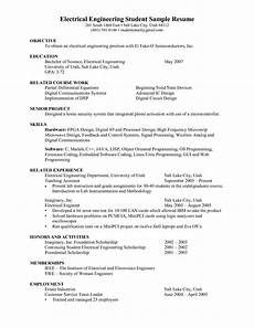 Sample Cv For Engineering Students Engineering Student Resume Google Search Resumes