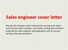 Cover Letter Sales Engineer Sales Engineer Cover Letter