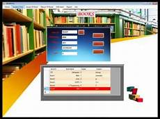 Library Management System Final Year Projects Library Management System Youtube