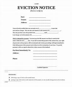 Free Eviction Form Free 27 Notice Forms In Pdf