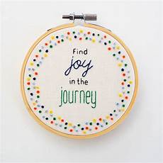 motivational embroidery quote hoop by pixiecraft